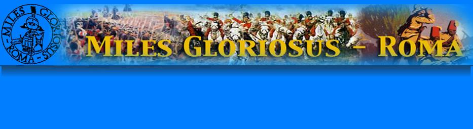 il blog ufficiale del miles gloriosus