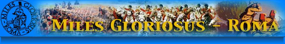 Miles Gloriosus Forum